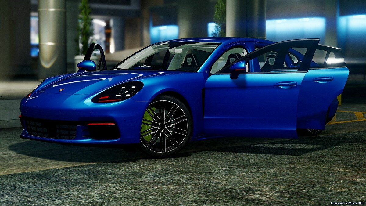 Porsche Panamera 4S 2017 [Add-On / Replace] 1.0 для GTA 5 - скриншот #3