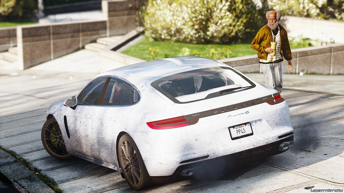 Porsche Panamera 4S 2017 [Add-On / Replace] 1.0 для GTA 5 - скриншот #5