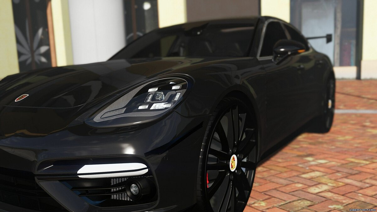 Машина Porsche 2018 Porsche Panamera Turbo [Replace] [Add-On] Version 1.1 для GTA 5