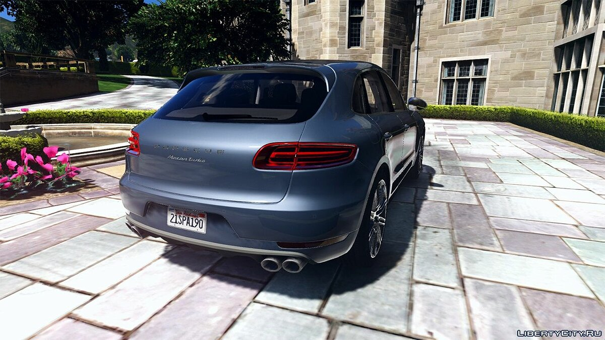 2016 Porsche Macan Turbo 1.0 для GTA 5 - скриншот #2