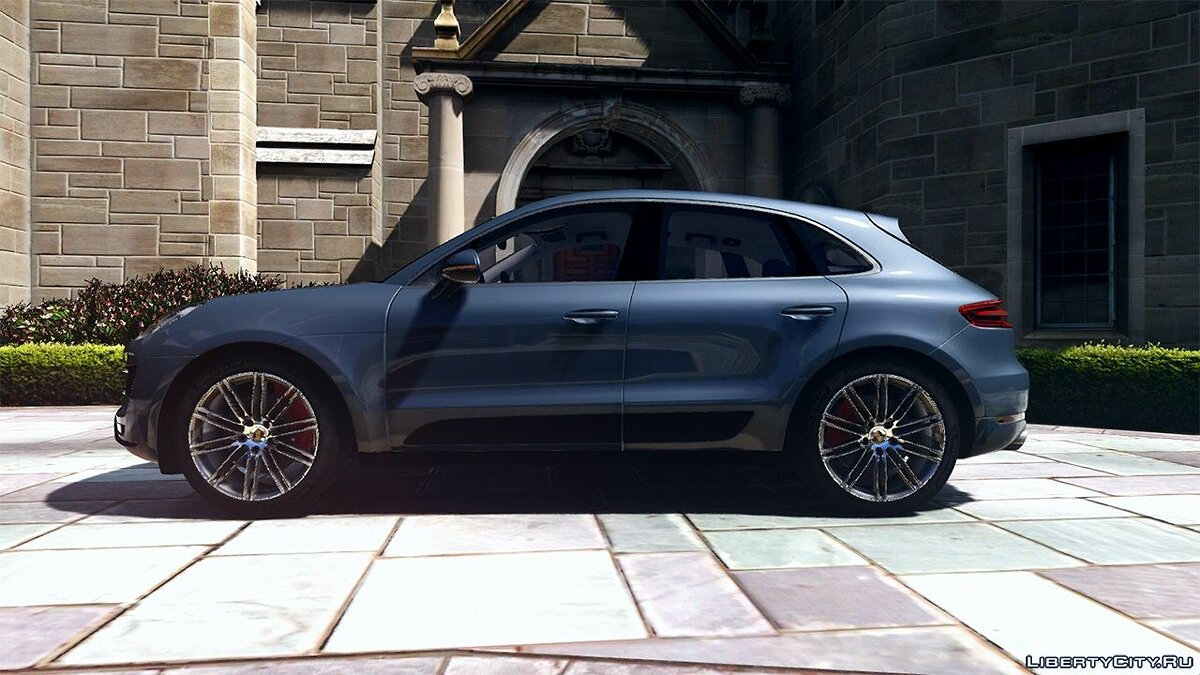 2016 Porsche Macan Turbo 1.0 для GTA 5 - скриншот #3