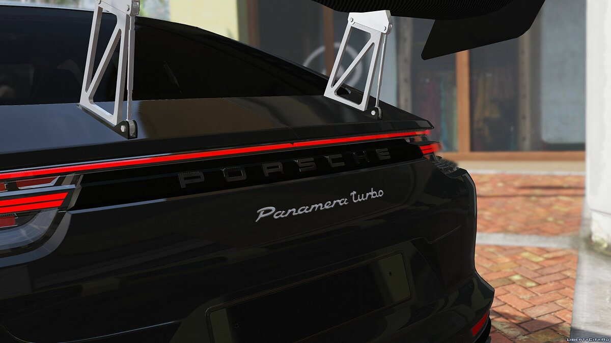 Машина Porsche 2018 Porsche Panamera Turbo [Replace] Version 1.0 для GTA 5