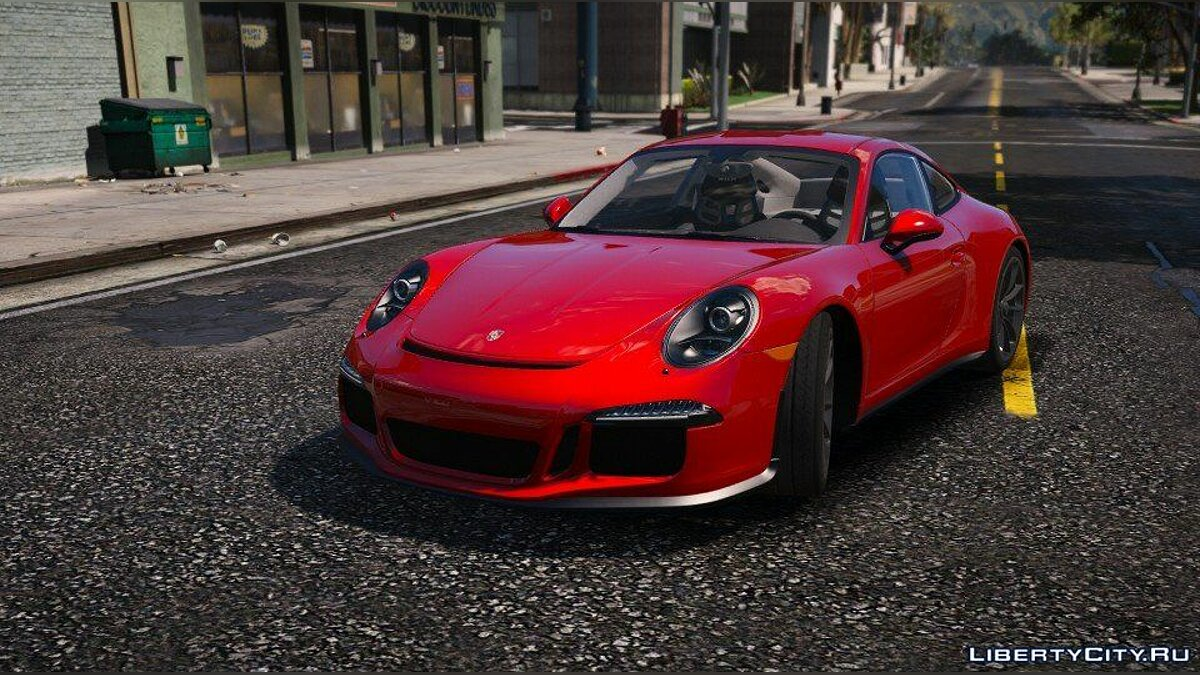 Porsche 911 R 2016 [Add-On / Replace / Auto Spoiler] 1.0 для GTA 5