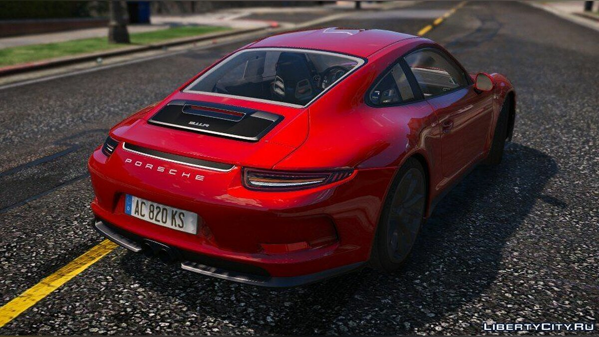 Porsche 911 R 2016 [Add-On / Replace / Auto Spoiler] 1.0 для GTA 5 - скриншот #2