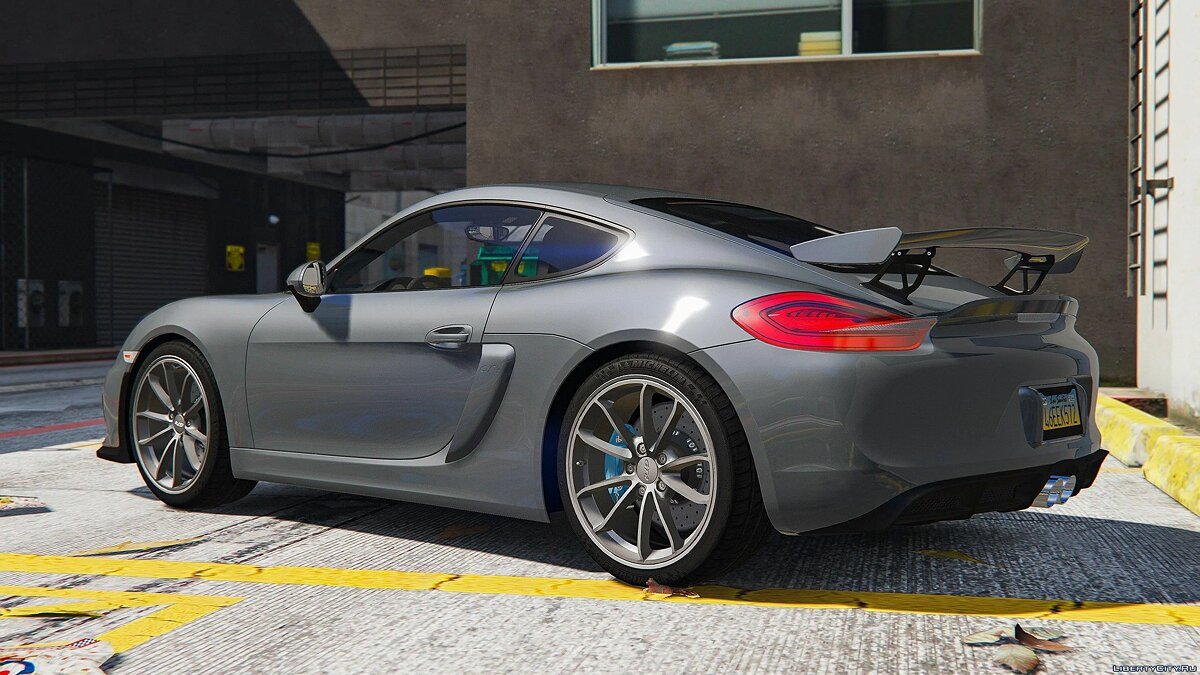 Машина Porsche 2016 Porsche 981 Cayman GT4 [Add-On | Template] для GTA 5