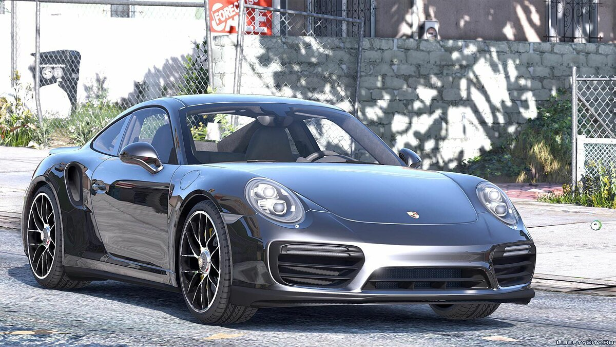 2016 Porsche 911 Turbo S [Add-On / Replace | Auto Spoiler | Animated | Template] 1.2 для GTA 5