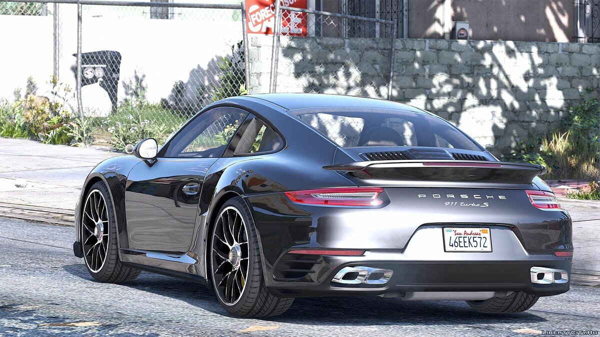 2016 Porsche 911 Turbo S [Add-On / Replace | Auto Spoiler | Animated | Template] 1.2 для GTA 5 - скриншот #2