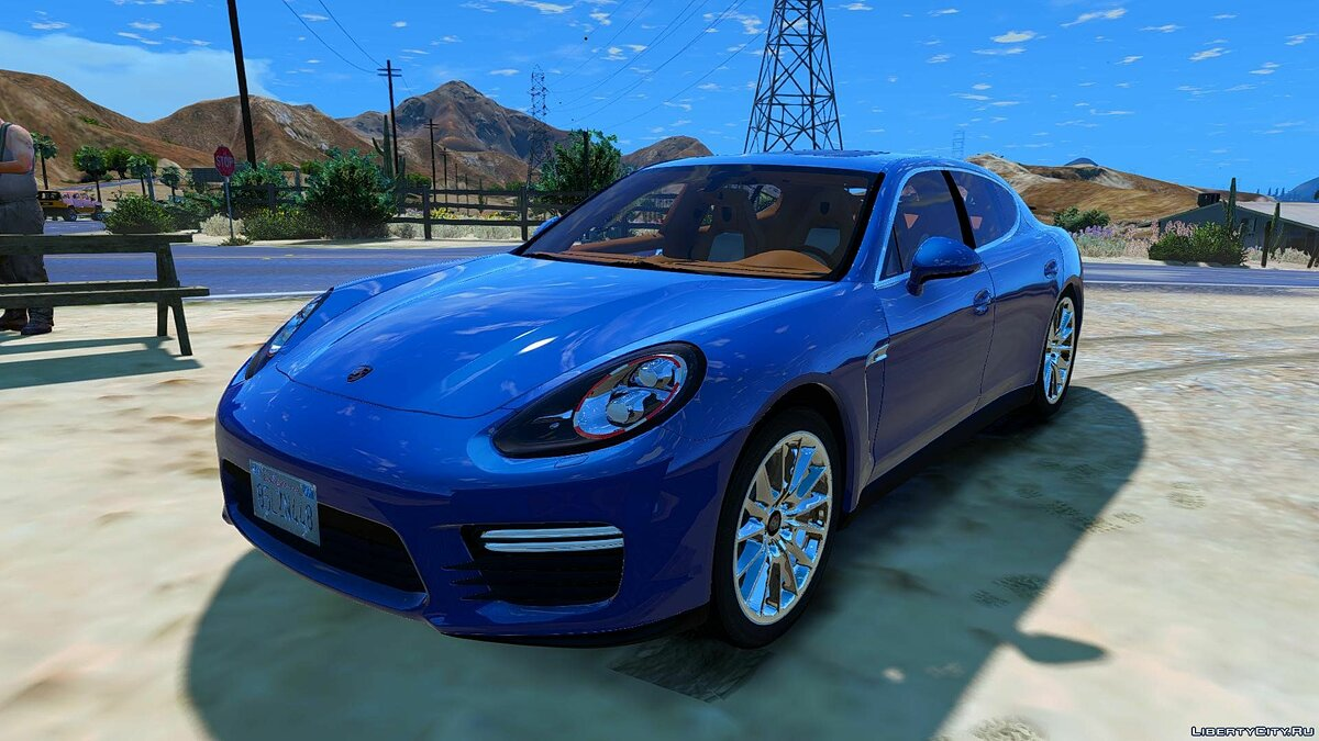 Porsche Panamera GTS (Add-on/Replace) 1.0 для GTA 5