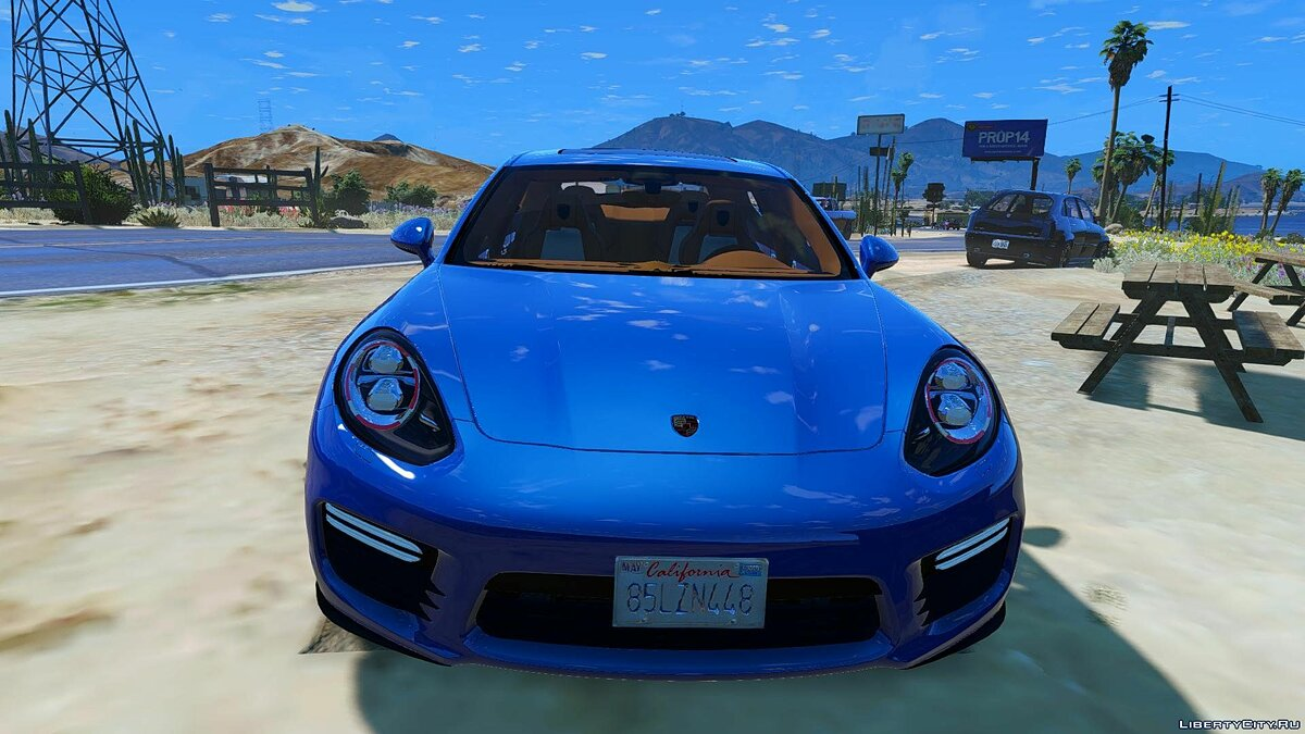 Porsche Panamera GTS (Add-on/Replace) 1.0 для GTA 5 - скриншот #2