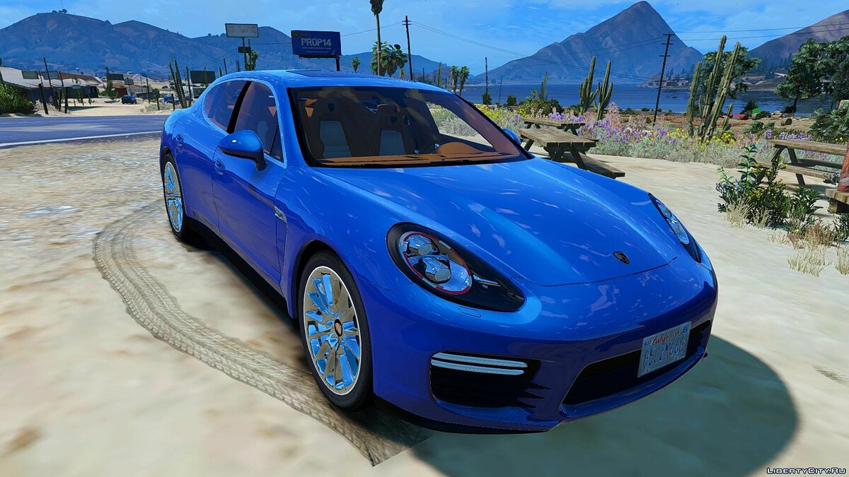 Porsche Panamera GTS (Add-on/Replace) 1.0 для GTA 5 - скриншот #3