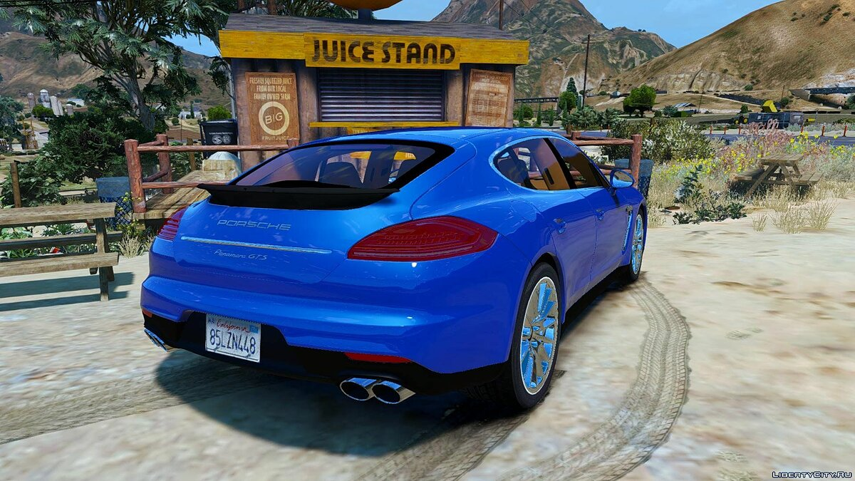 Porsche Panamera GTS (Add-on/Replace) 1.0 для GTA 5 - скриншот #4