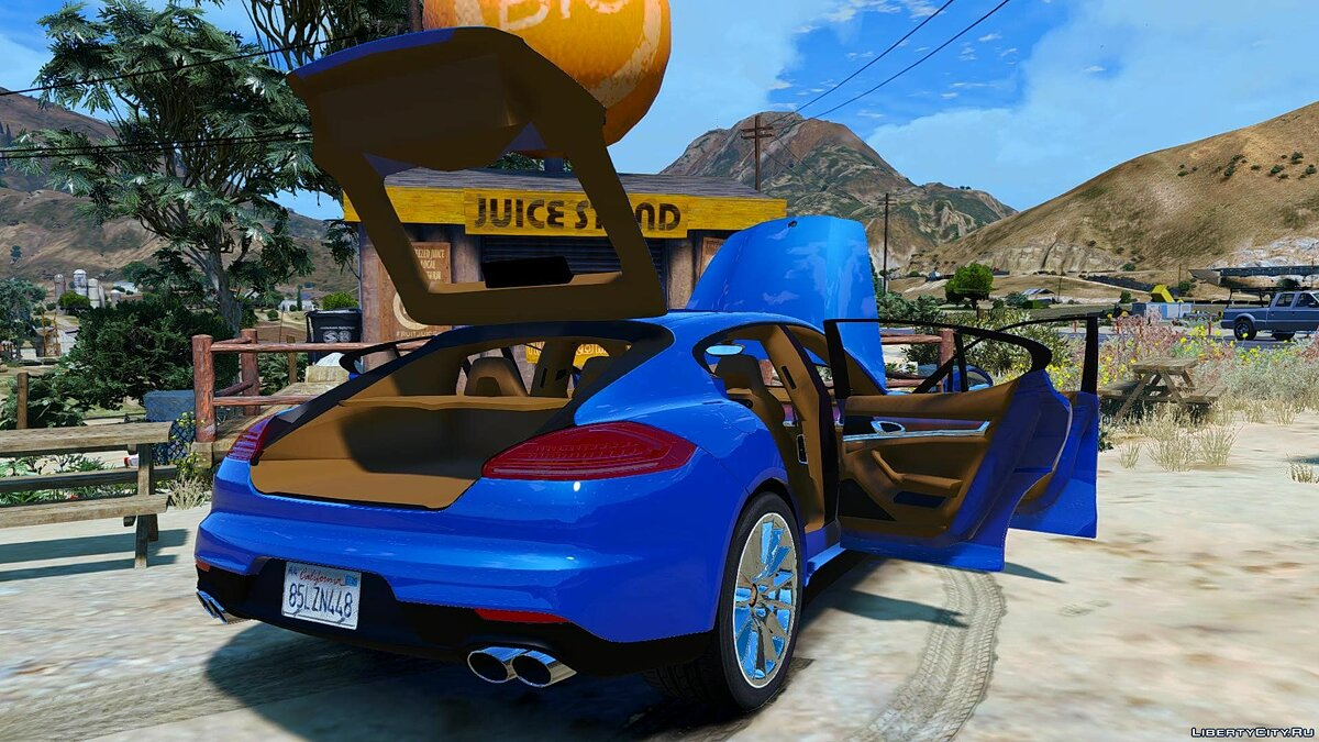 Porsche Panamera GTS (Add-on/Replace) 1.0 для GTA 5 - скриншот #7