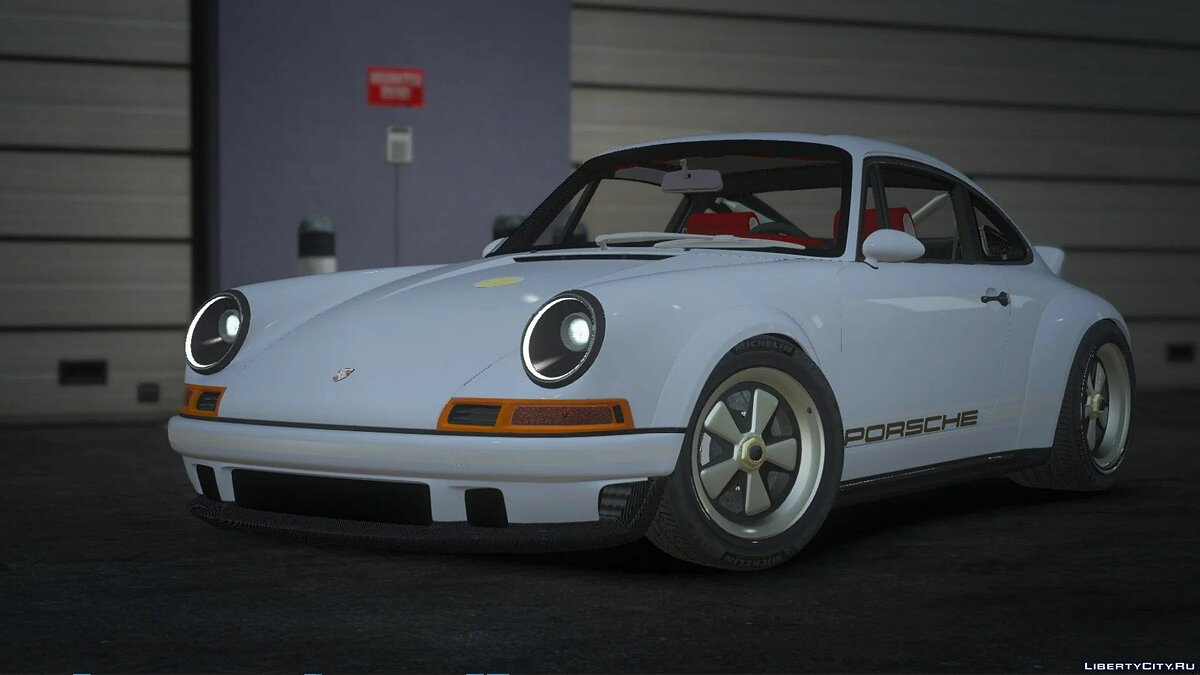 Машина Porsche Porsche 911 Singer DLS Edition [Add-On / Unlocked] 1.1 для GTA 5