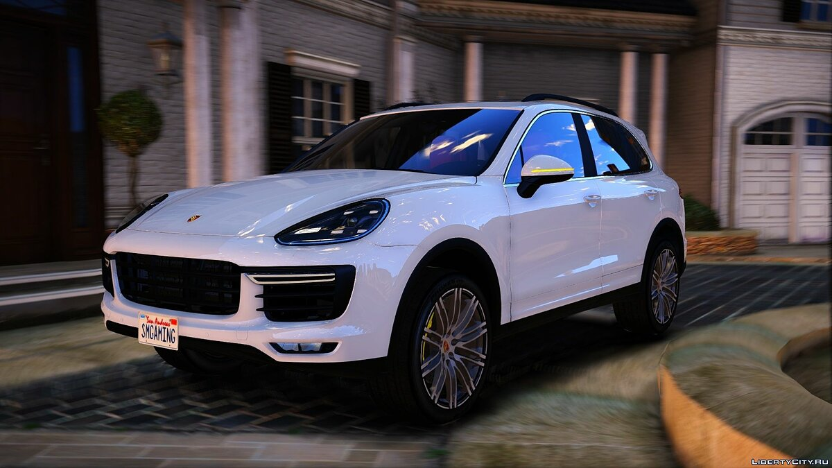 2016 Porsche Cayenne Turbo S [Add-On / Replace] 2.0 для GTA 5