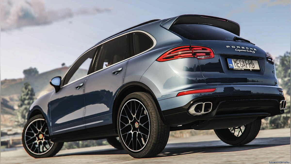 2016 Porsche Cayenne Turbo S [Add-On / Replace] 2.0 для GTA 5 - скриншот #7