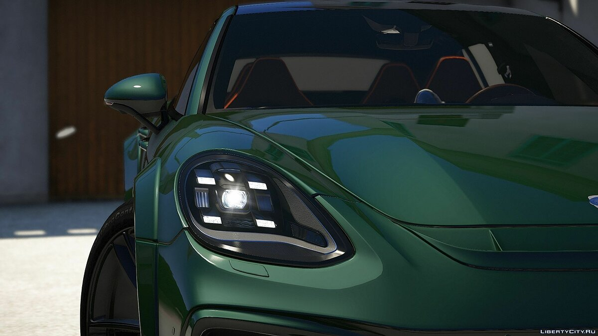 Машина Porsche Porsche Panamera Sport Turismo (Techart GrandGT) [Add_on] 1.1 для GTA 5