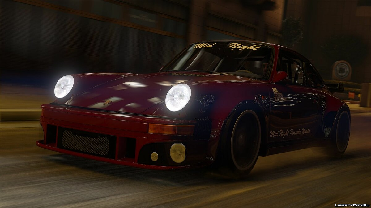 Машина Porsche Porsche 930 Midnight Club [Add-On | Replace] 1.0 для GTA 5
