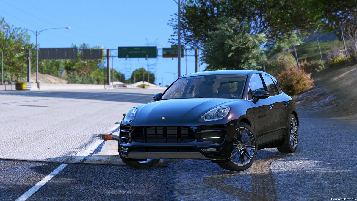 2016 Porsche Macan Turbo [Add-On / Replace] 1.2 для GTA 5 - скриншот #4