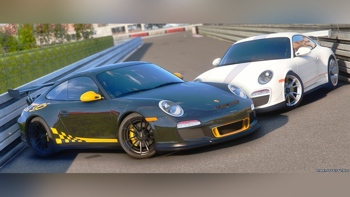 Машина Porsche Porsche 911 GT3/GT3 4.0 [Add-On | LODs | Extras | Template] 1.2 для GTA 5