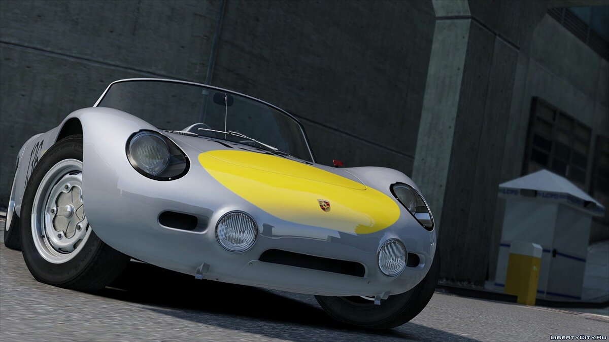 Машина Porsche 1960 Porsche 718 RS [Add-On | LODs | Template] 1.0 для GTA 5