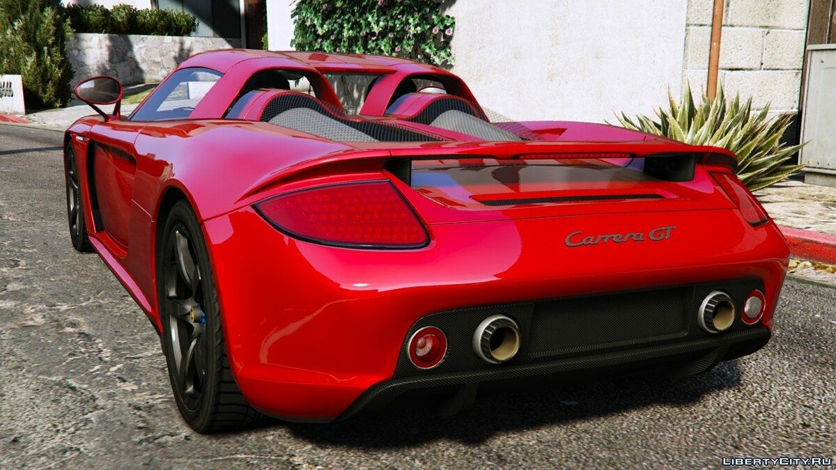 2003 Porsche Carrera GT (980) [Add-On] для GTA 5 - скриншот #2