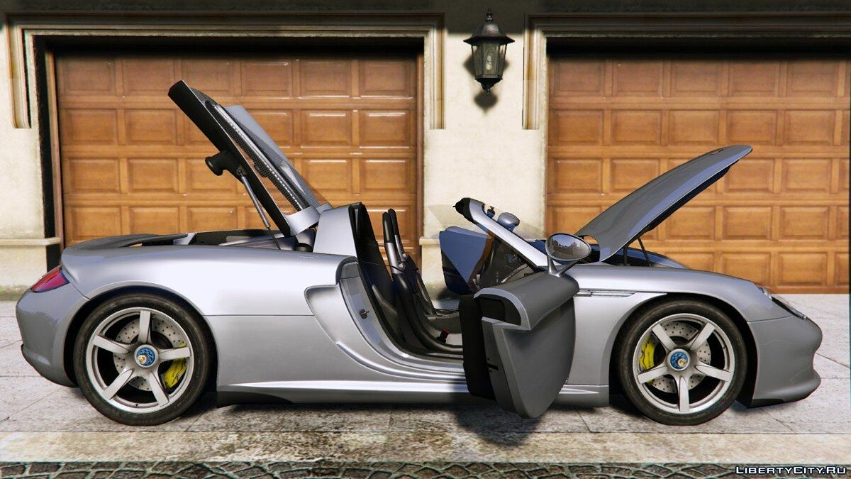 2003 Porsche Carrera GT (980) [Add-On] для GTA 5 - скриншот #4