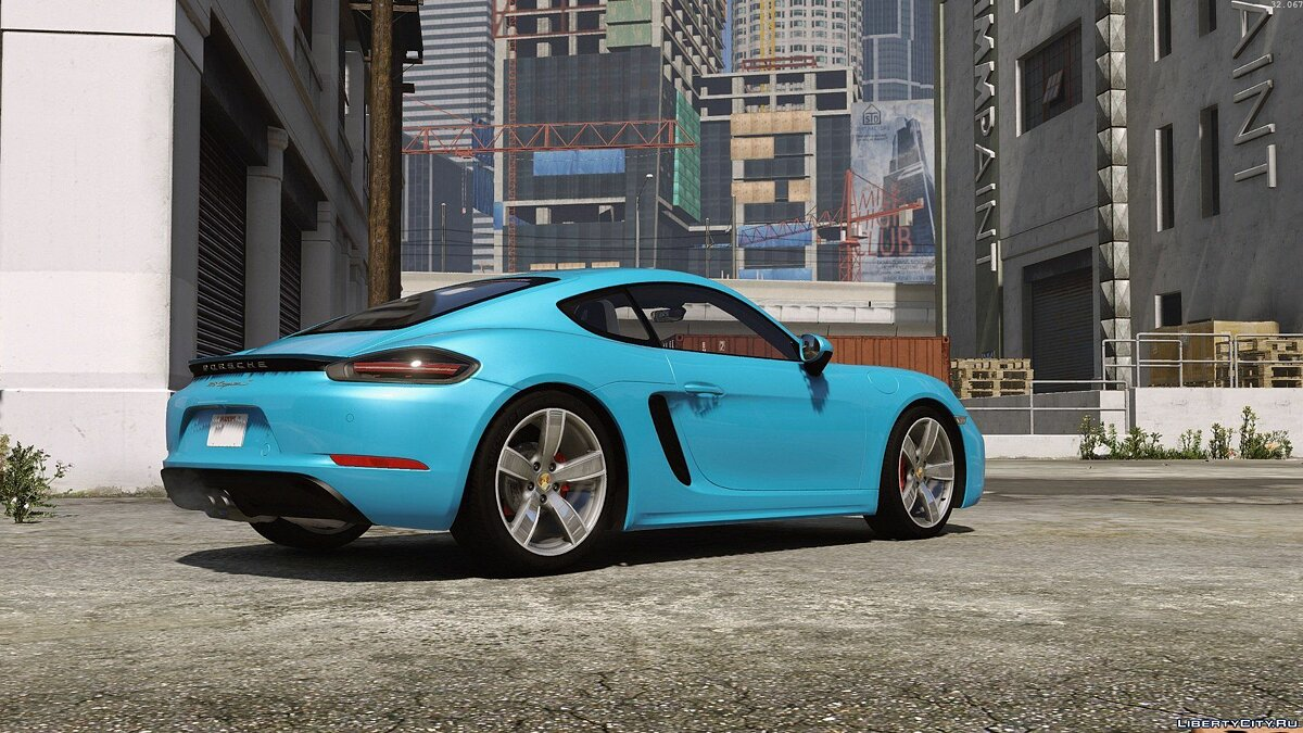 Машина Porsche Porsche 718 Cayman S [Add-On / Replace] для GTA 5
