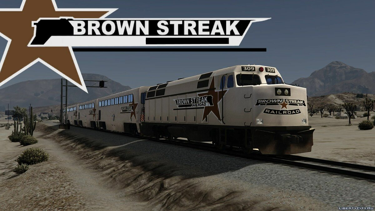 ��ашина Brown Streak [Add-On] для GTA 5