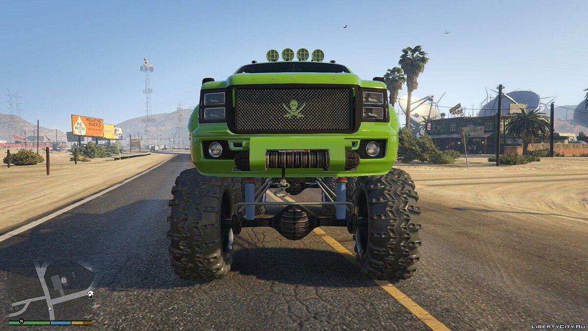 Sandking HD Monster Dually 1.0 для GTA 5