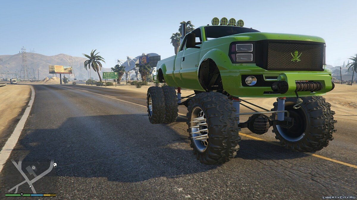 Sandking HD Monster Dually 1.0 для GTA 5 - скриншот #2
