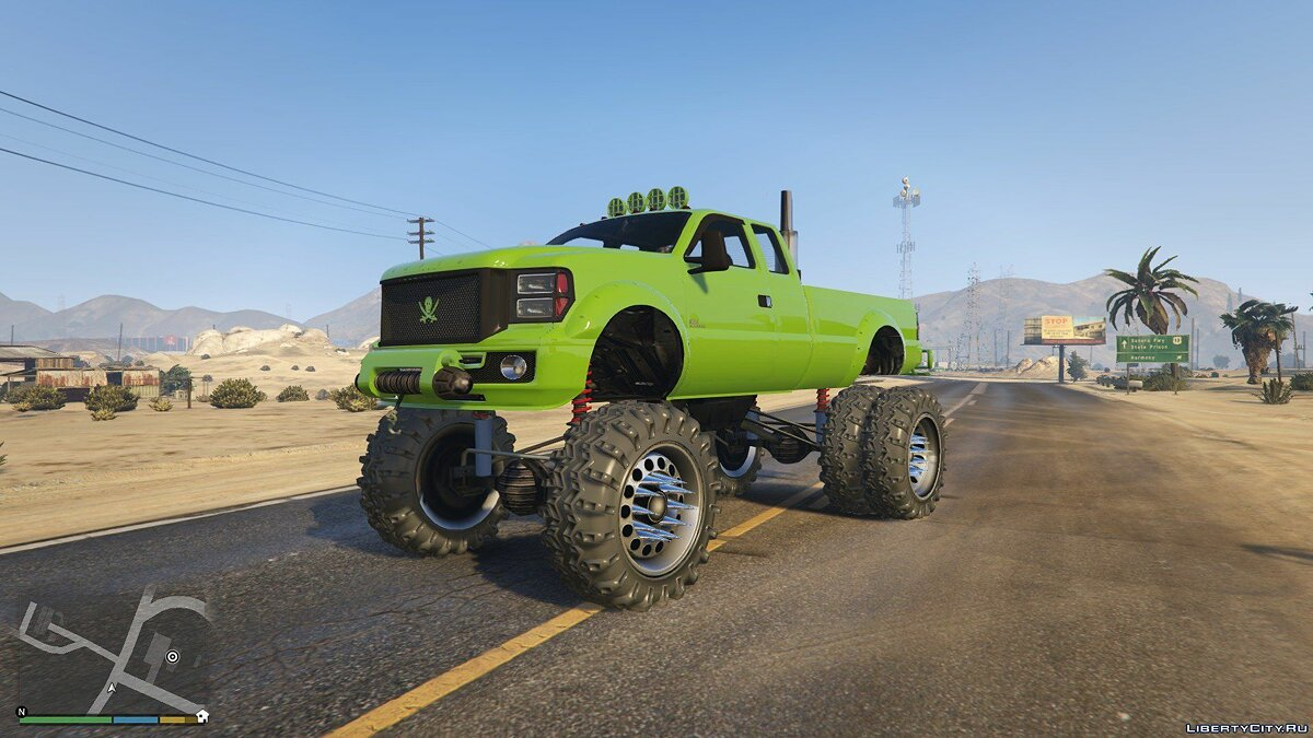 Sandking HD Monster Dually 1.0 для GTA 5 - скриншот #3