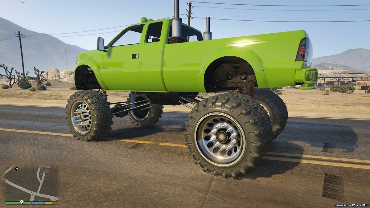Sandking HD Monster Dually 1.0 для GTA 5 - скриншот #4