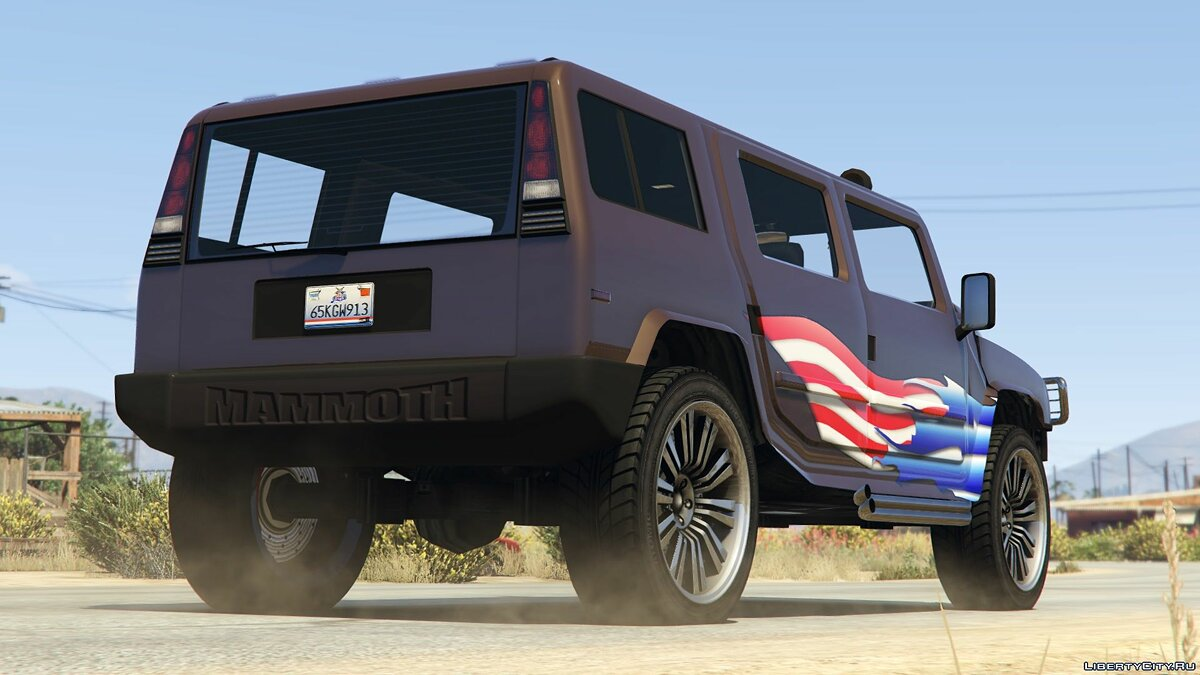 Машина Mammoth Patriot [Add-On/Replace | Livery] 1.1 для GTA 5
