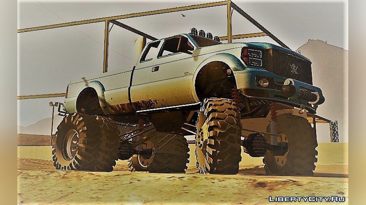 Sandking HD Monster Dually 1.1 для GTA 5