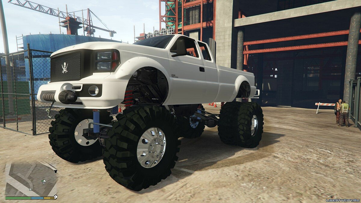 Sandking HD Monster Dually 1.1 для GTA 5 - скриншот #2