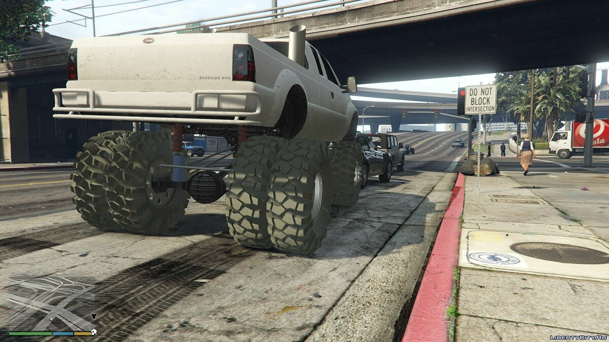 Sandking HD Monster Dually 1.1 для GTA 5 - скриншот #4