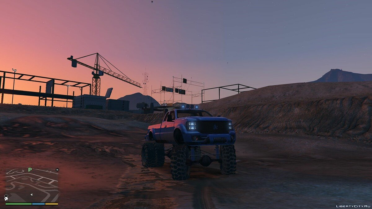 Sandking HD Monster Dually 1.1 для GTA 5 - скриншот #5