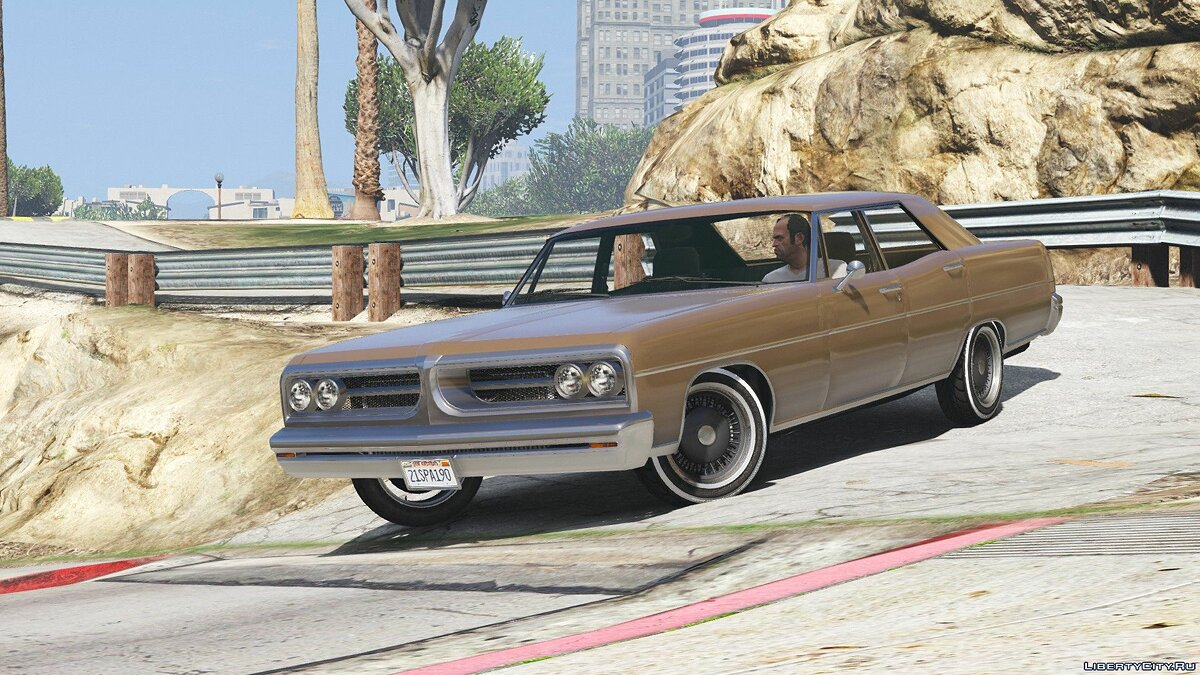 Машина TLAD Regina Sedan [Add-On / Replace] 1.1 для GTA 5