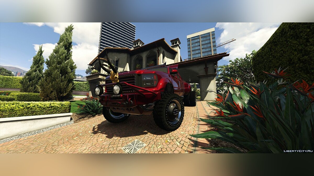 Машина Vapid Sandking XL Dually [Addon | Extras] 1.0 для GTA 5
