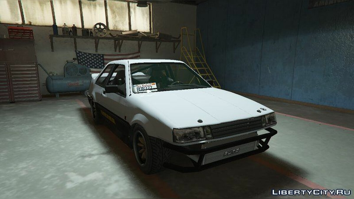Машина Futo Drift Missile [Replace] для GTA 5