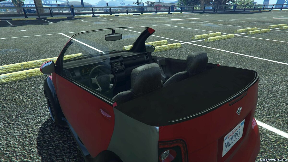 Машина Benefactor Panto Cabriolet [Add-On / Replace] 1.1 для GTA 5