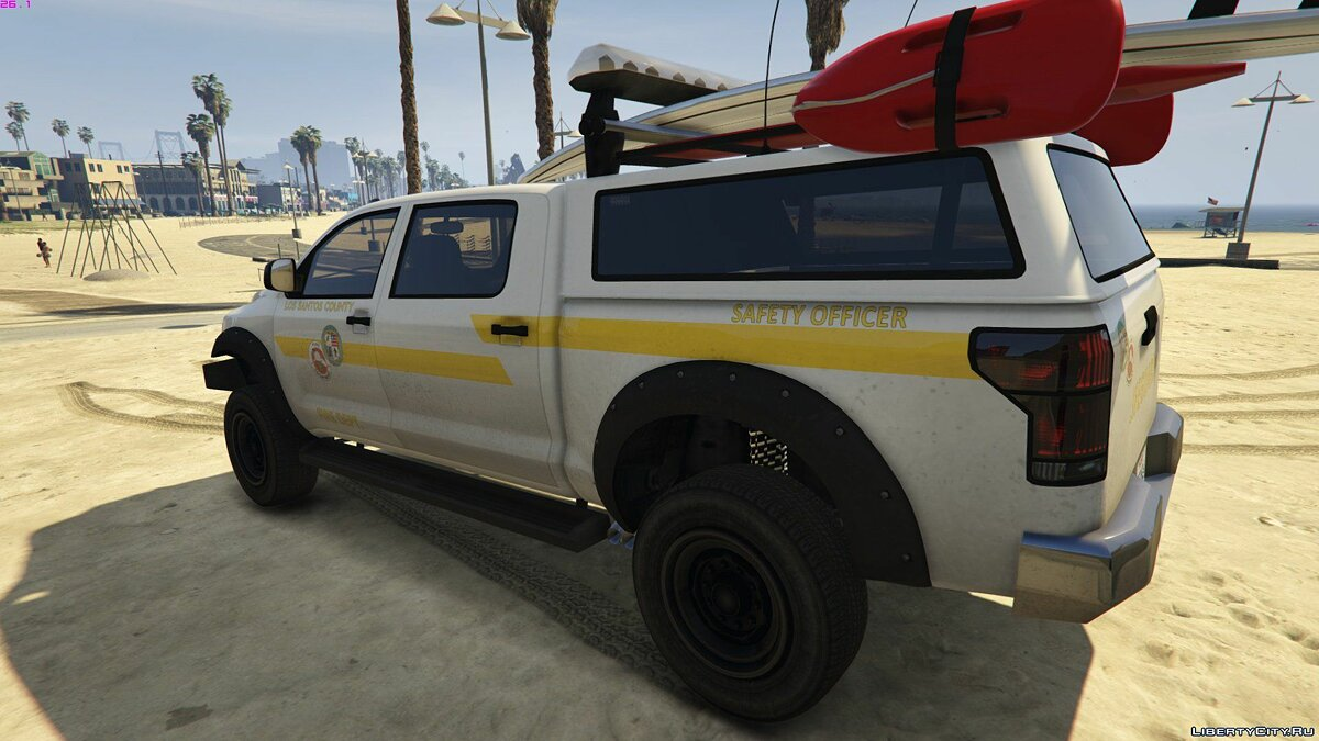 Машина Vapid Contender Lifeguard [Add-On / Replace] 1.0 для GTA 5