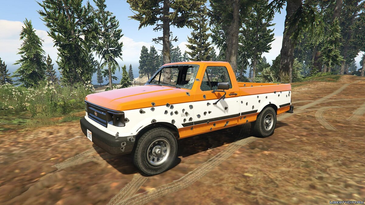 Машина Vapid Sadler Retro [Add-On / Replace] 1.3 для GTA 5