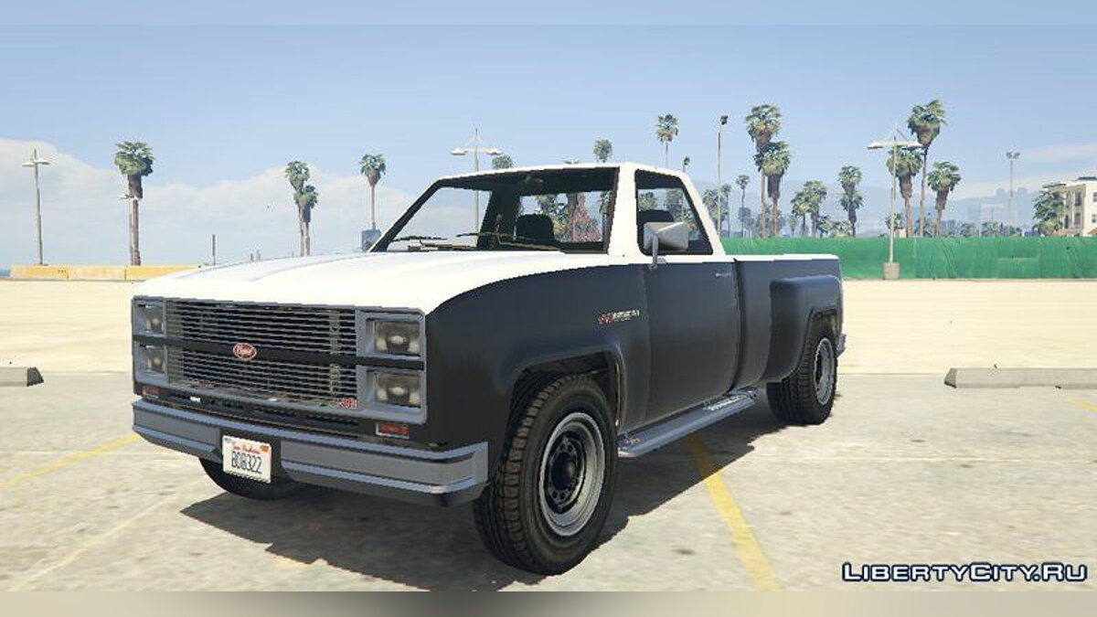 Машина Bobcat Single Cab [Add-On / Replace] для GTA 5