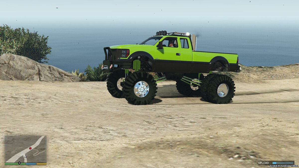 Sandking HD Monster Dually 1.2.1 для GTA 5
