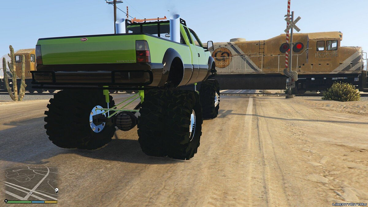 Sandking HD Monster Dually 1.2.1 для GTA 5 - скриншот #2
