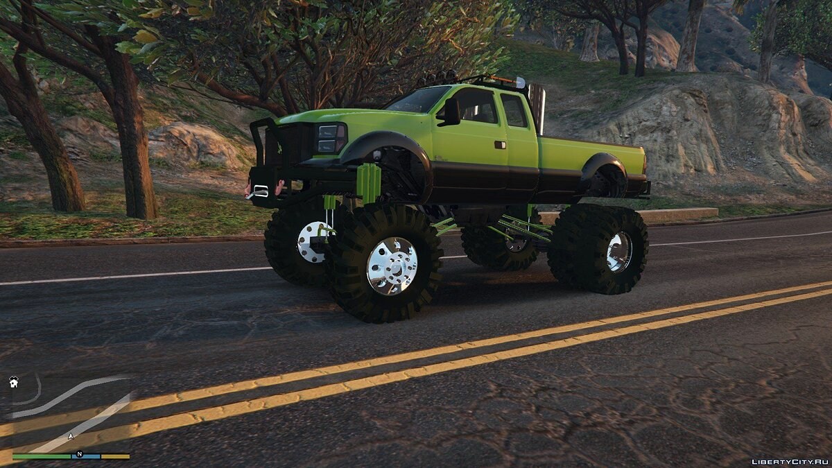 Sandking HD Monster Dually 1.2.1 для GTA 5 - скриншот #5
