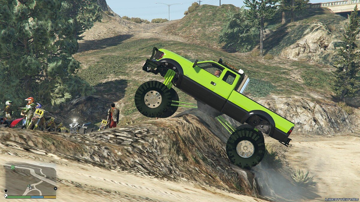 Sandking HD Monster Dually 1.2.1 для GTA 5 - скриншот #6