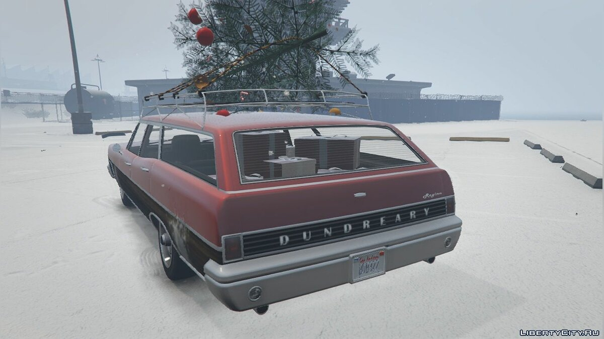 Regina Christmas Car [Add-On/Replace] 1.0 для GTA 5 - скриншот #3