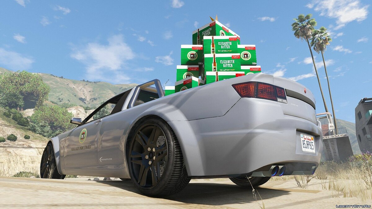 Машина Cheval Boomerang EB SS Xmas Special [Add-On | RHD] 1.0 для GTA 5